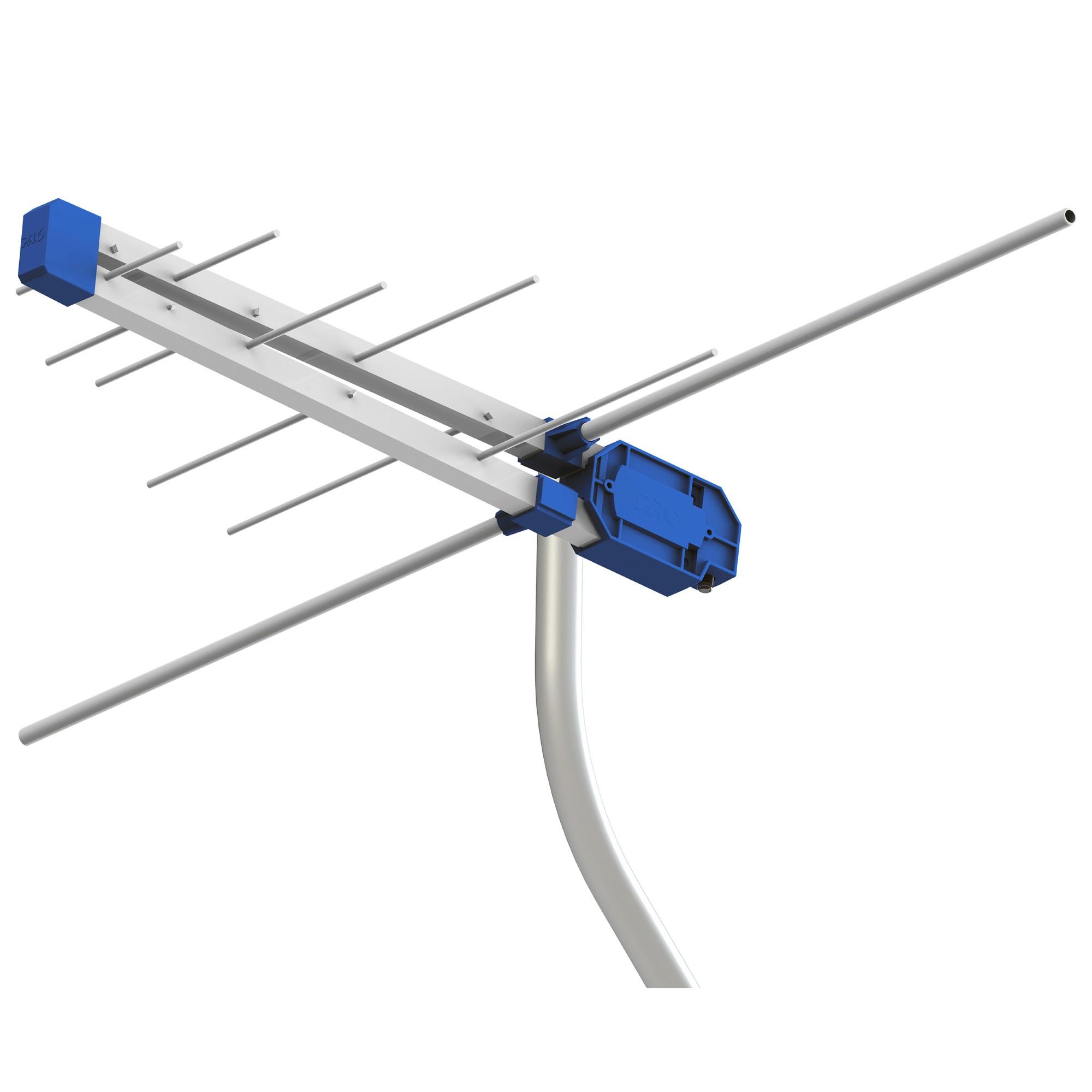 Antena Externa VHFUHF 12 Elementos - Prohd3610