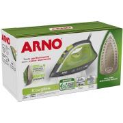 Ferro de passar a Vapor e a Seco Arno Ecogliss FEC1 220V - Verde com Corta Pingos