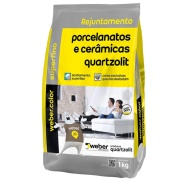 Rejunte Porcelanato Weber Caramelo Saco 1kg - Quartzolit