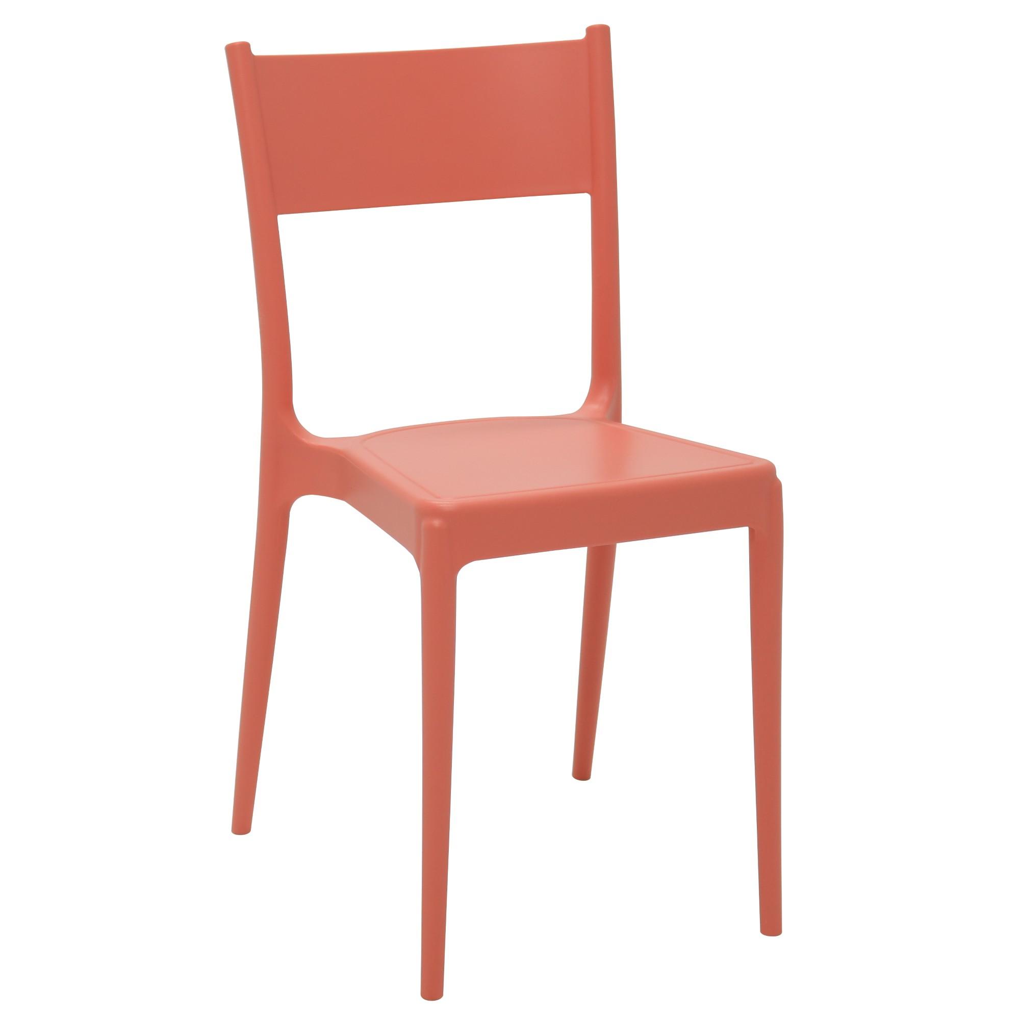 Cadeira Tramontina Diana em Polipropileno Coral