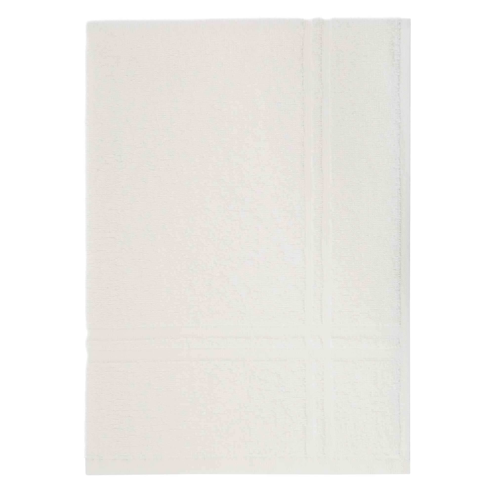 Toalha de Piso Metropole 45x65cm 100 algodao Branco - Karsten