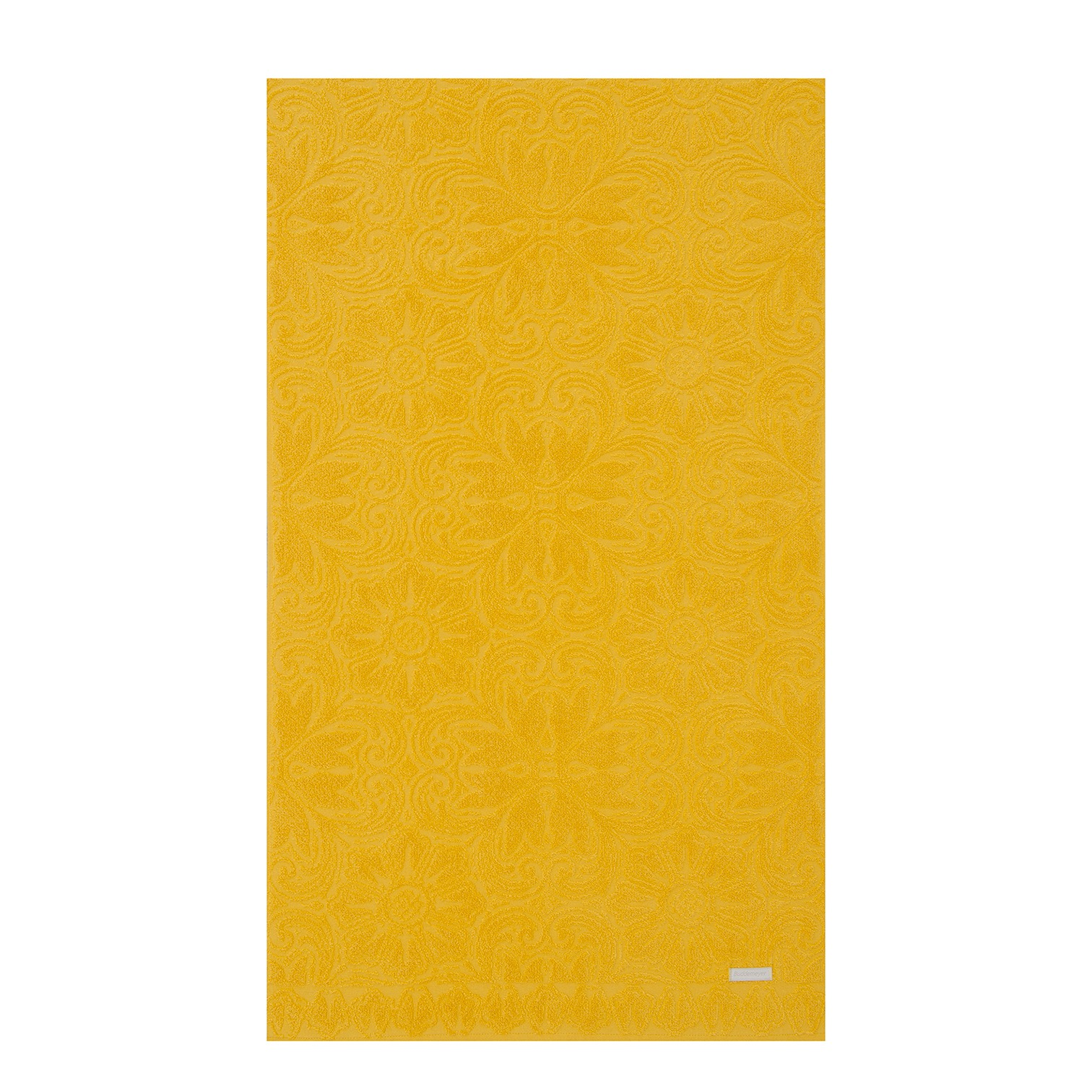 Toalha de Piso 48 x 70 cm 100 algodao Amarelo - Buddemeyer