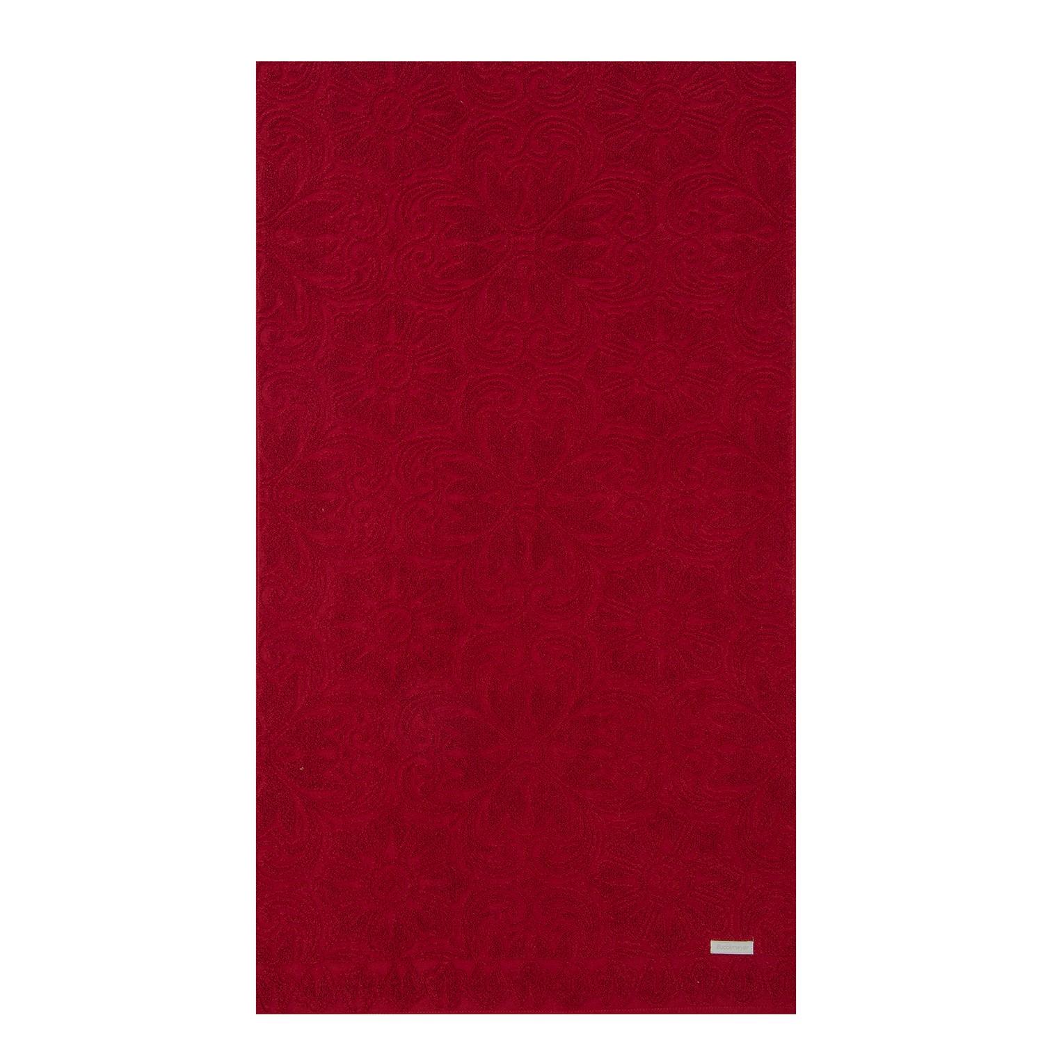 Toalha de Rosto Florentina 100 Algodao 48 x 80 Cm Vermelha - Buddemeyer