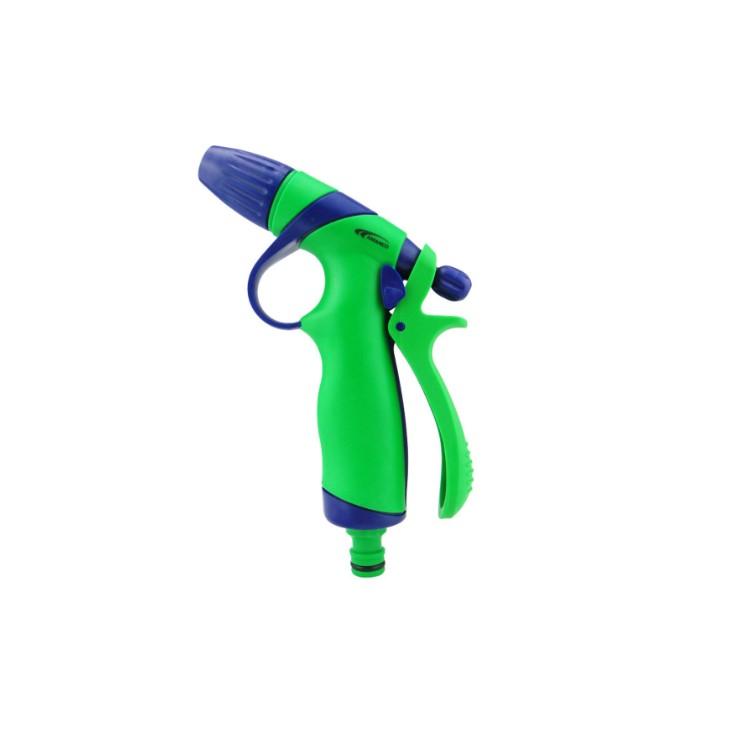 Esguicho Revolver 12 Plastico Engate Rapido 01 Jato Verde 20059 - Amanco
