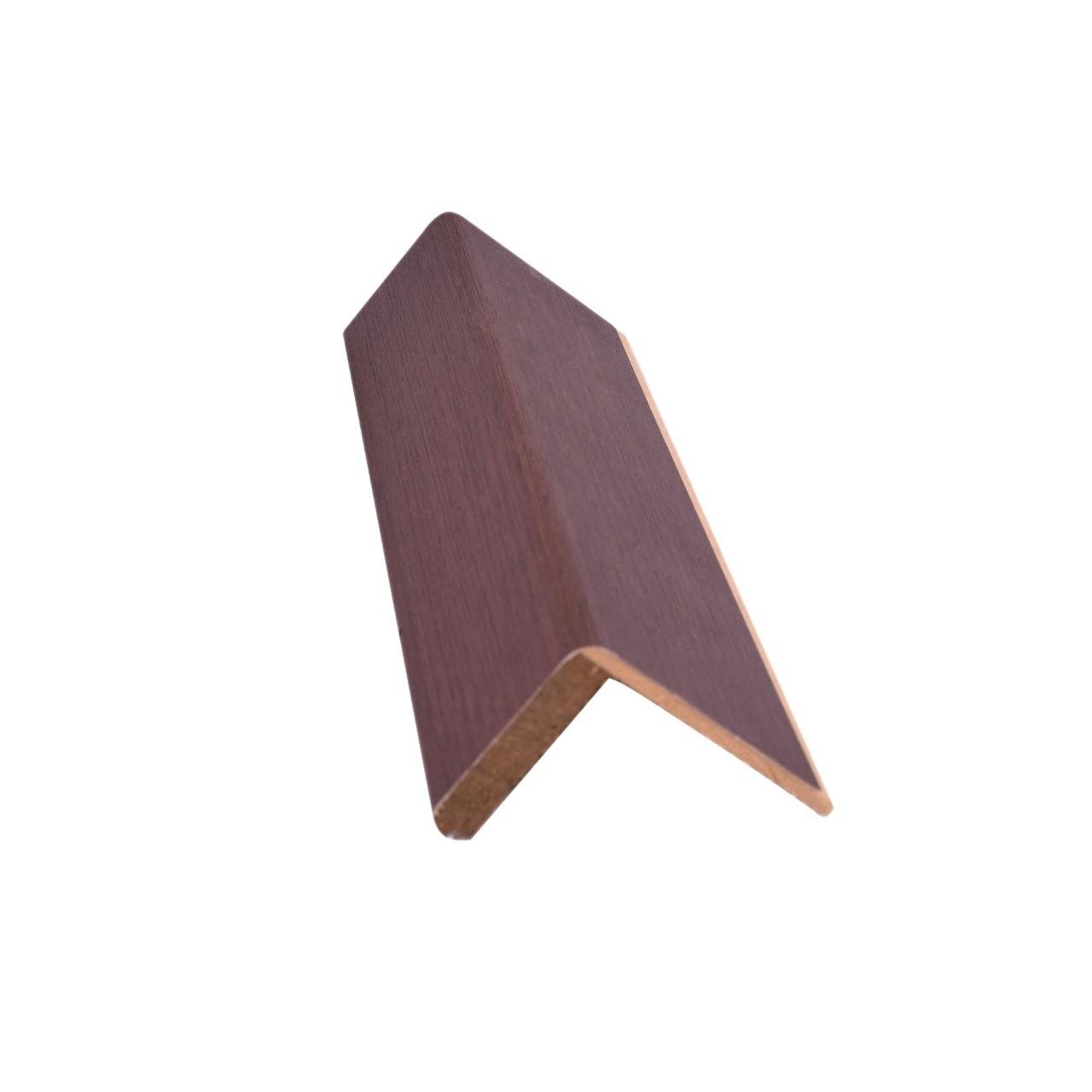 Guarnicao para Portas Madeira e MDF 5cm x 10cm x 223cm Wengue 548564 - Madelar