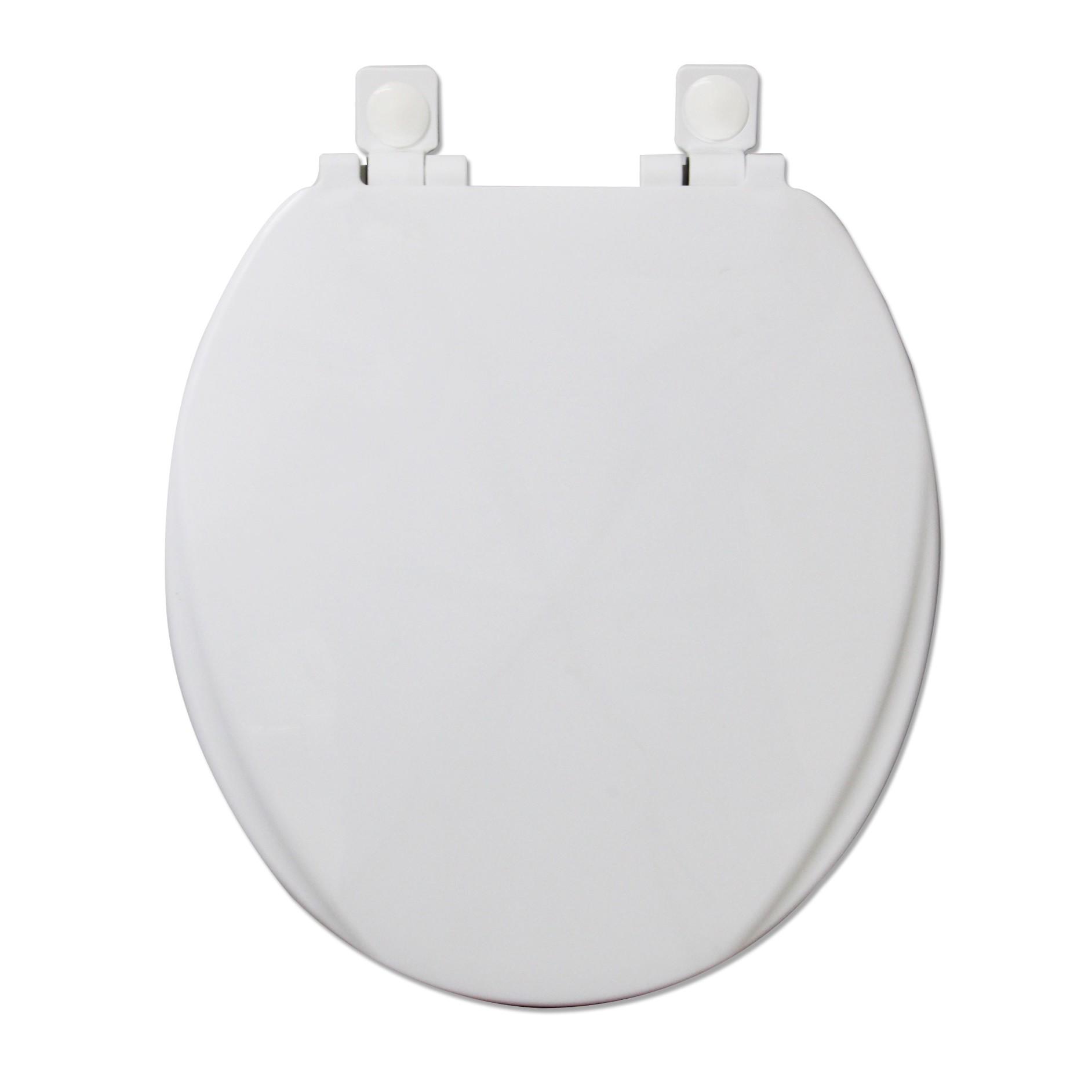 Assento Sanitario Oval Branco - Soft Close - Mebuki