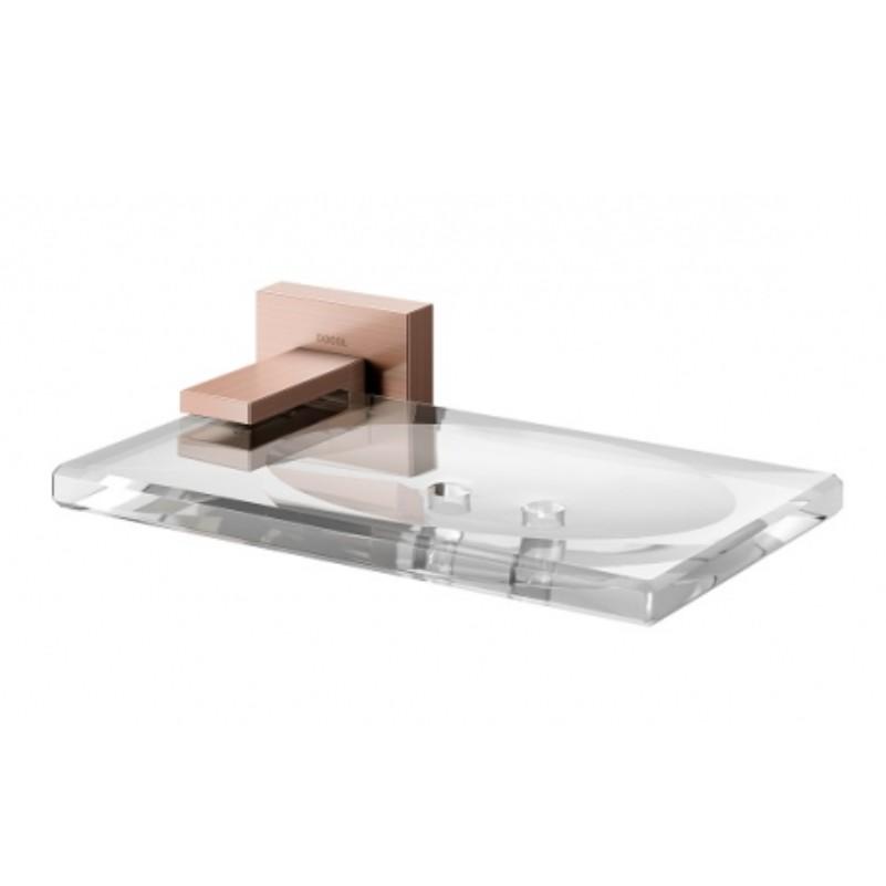 Saboneteira Square Cobre escovado - 00387969 - Docol