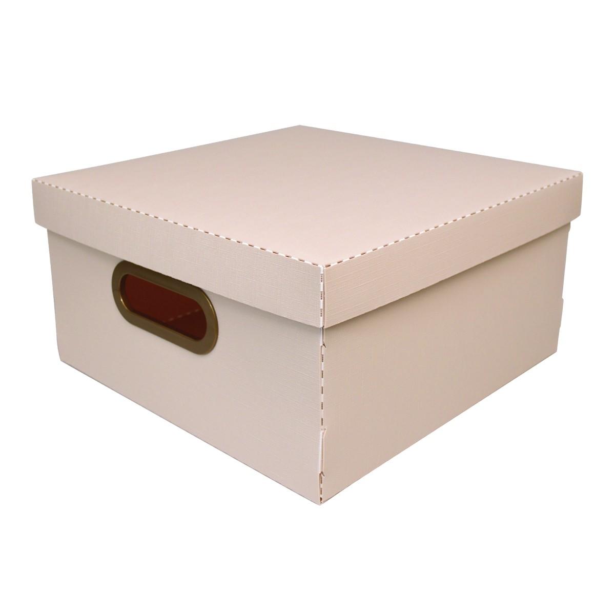Caixa Organizadora 29x29cm Rosa 2205 - Protea