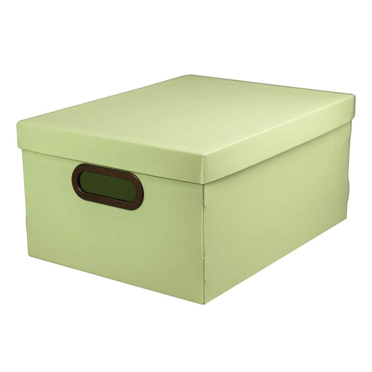 Caixa Organizadora 38x29cm Verde 2192 - Protea