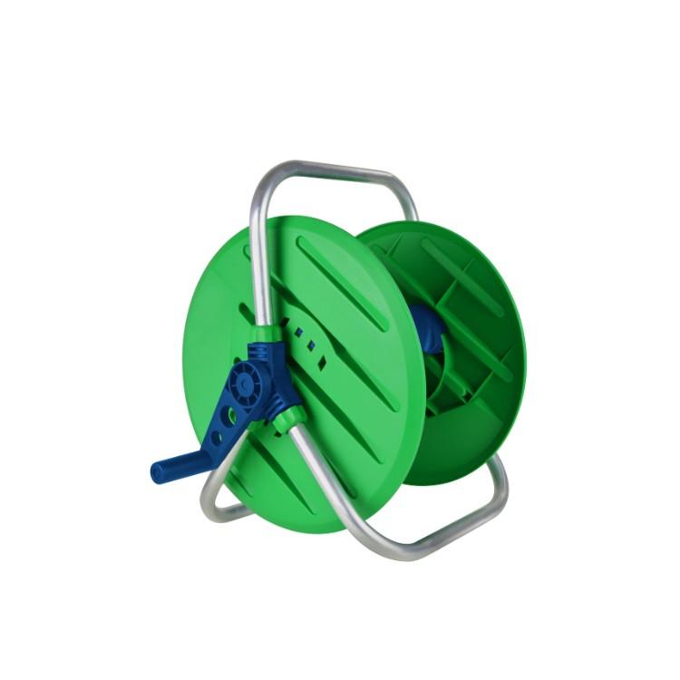 Enrolador de Mangueira 12 Fixo Ate 60m Verde - Amanco