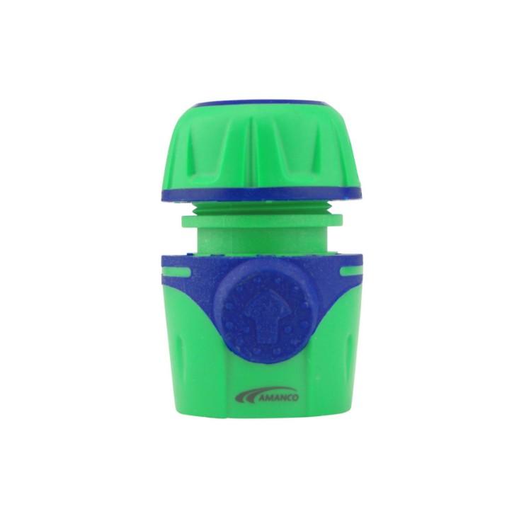 Conector para Mangueira Engate Rapido 12 Verde 98641 - Amanco