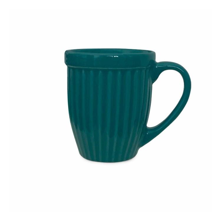 Caneca de Ceramica 400ml Verde Escura 351F - Ceramica Regina