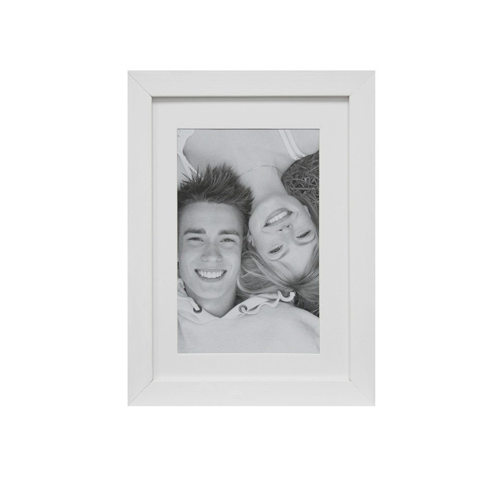 Porta Retrato Unifoto 10x15 cm Branco 68898 - Kapos