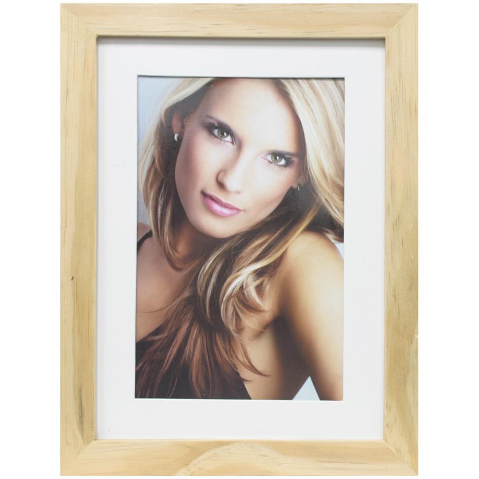 Porta Retrato Unifoto 10x15 cm Natural 69008 - Kapos