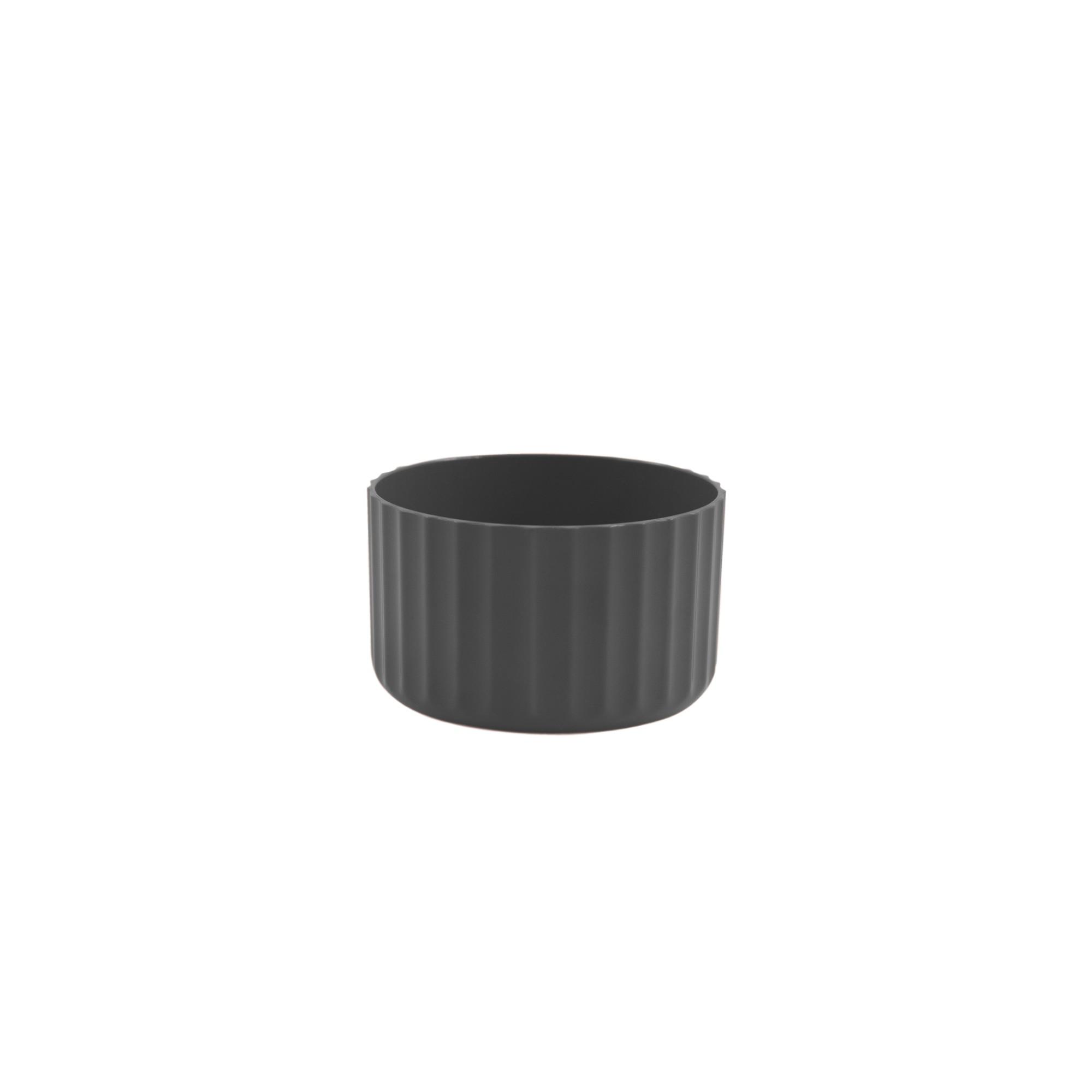 Vaso para Plantas Plastico 6x996 cm Redondo Chumbo - Ou