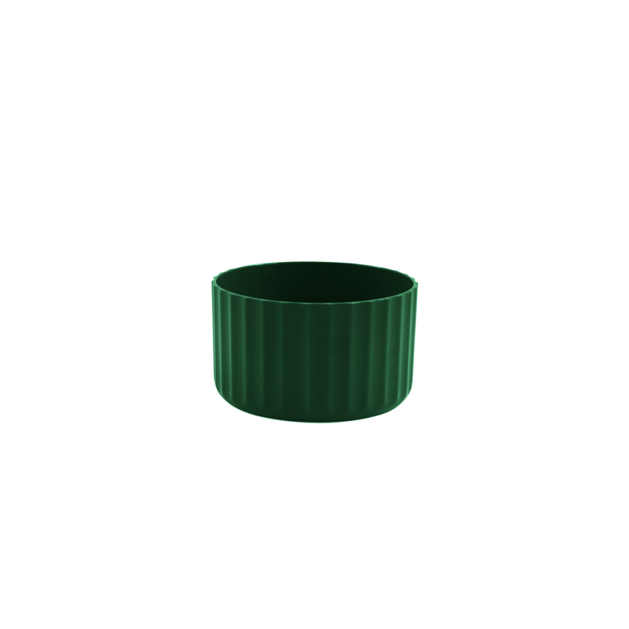 Vaso para Plantas Plastico 6x996 cm Groove Mini Verde botanico - Ou