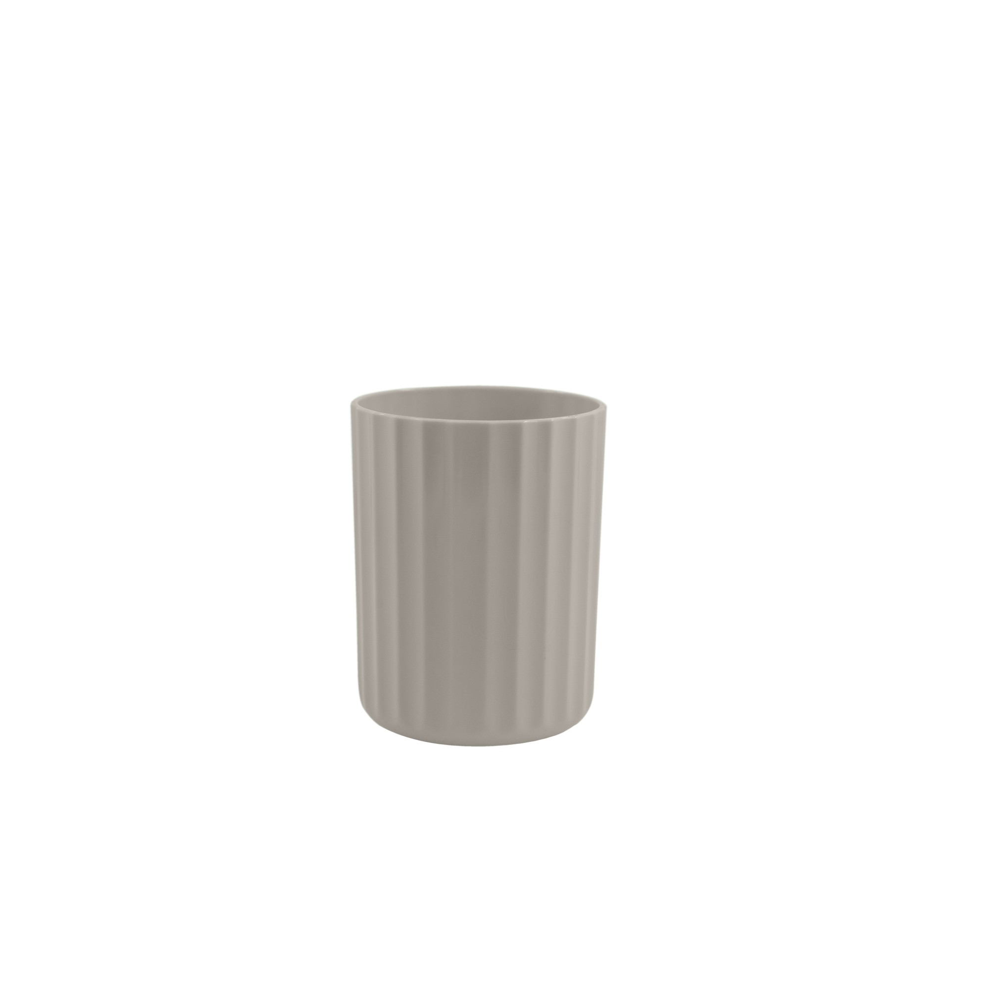 Vaso para Plantas Plastico 103x79 cm Groove Bege - Ou