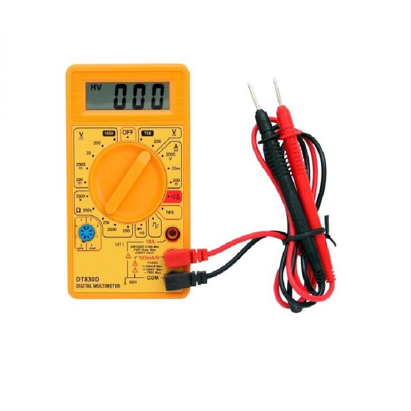 Multimetro Digital Dt-830