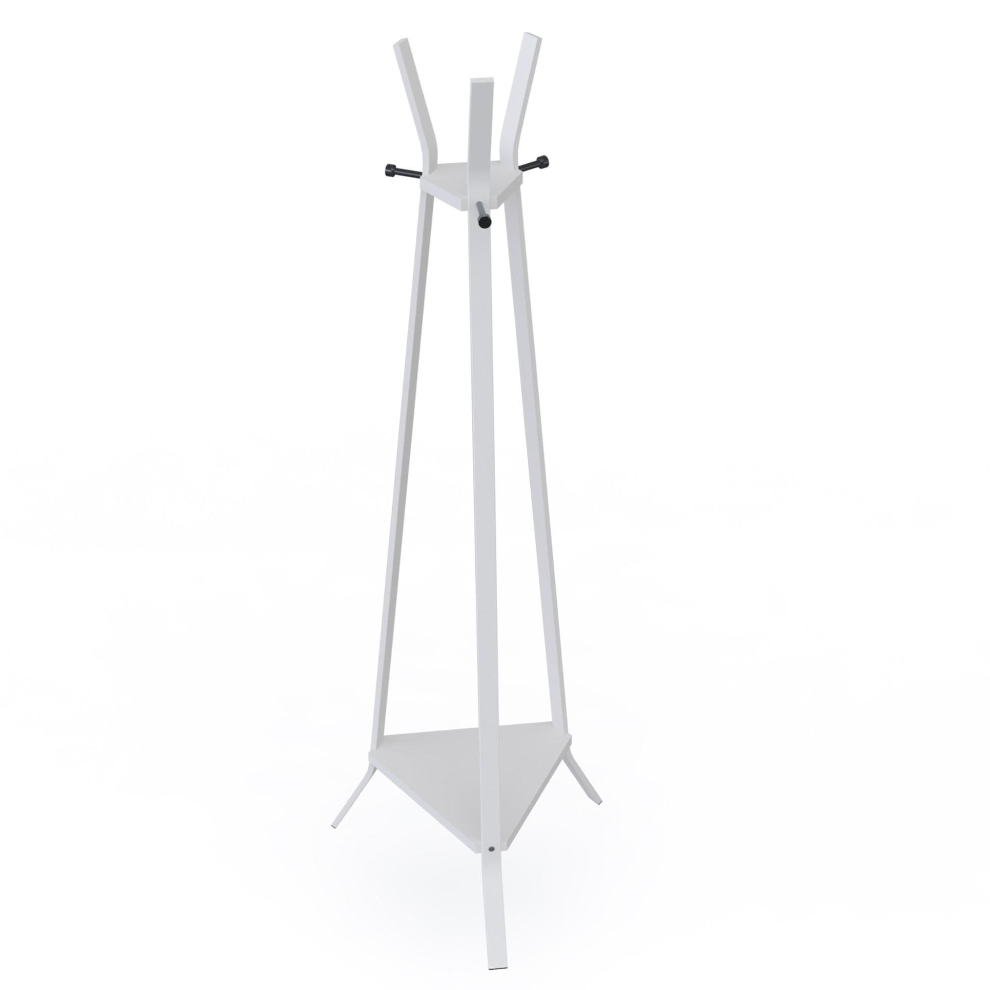 Cabideiro Triangular Aco 143cm Branco - DiCarlo