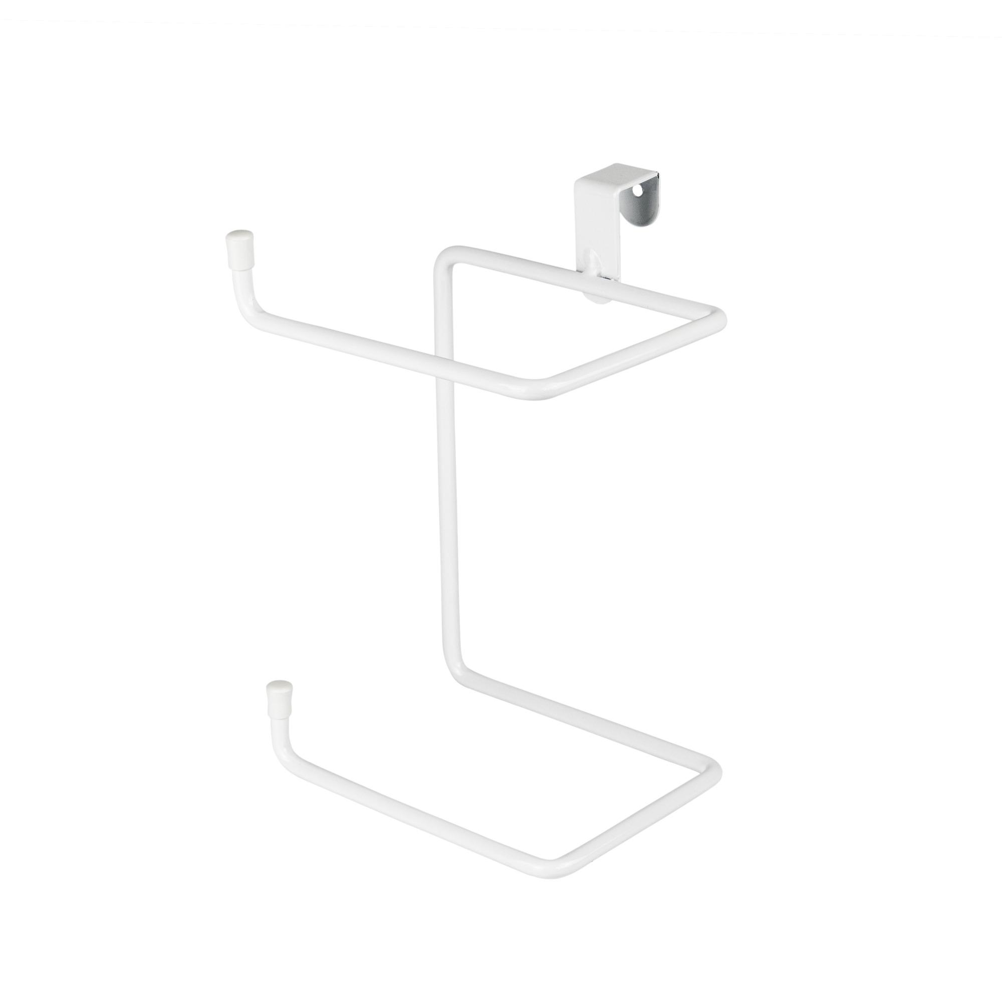 Porta Papel Higienico Branco Caixa Acoplada Duplo Aco - Dicarlo