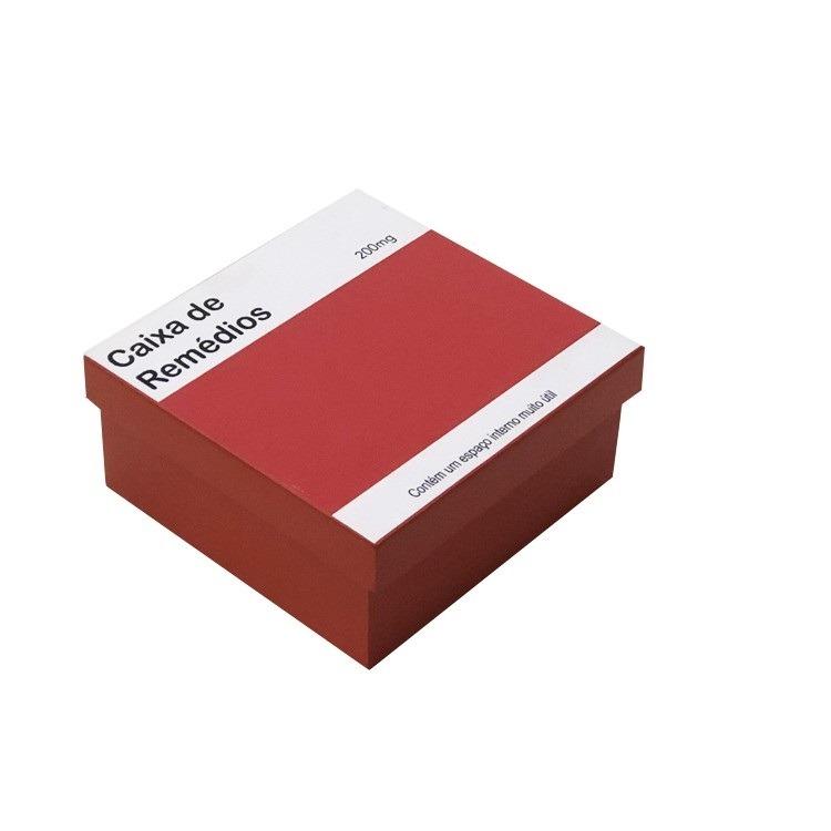 Porta-comprimido em MDF 18x18cm - Az Design