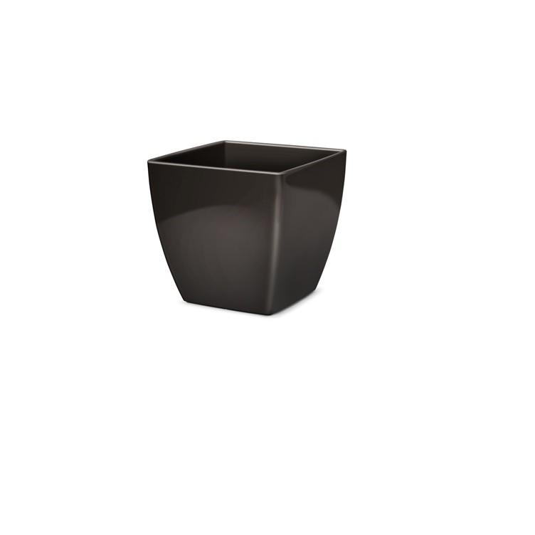 Vaso para Plantas Plastico 11x112 cm Elegance Preto - Nutriplan