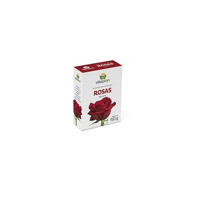 Fertilizante Mineral para Rosas e Flores 150 gr - Nutriplan
