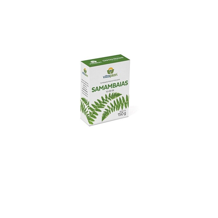 Fertilizante Mineral para Samambaias e Avencas 150 gr - Nutriplan