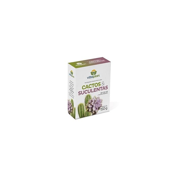Fertilizante Mineral para Cactos e Suculentas 150 gr - Nutriplan