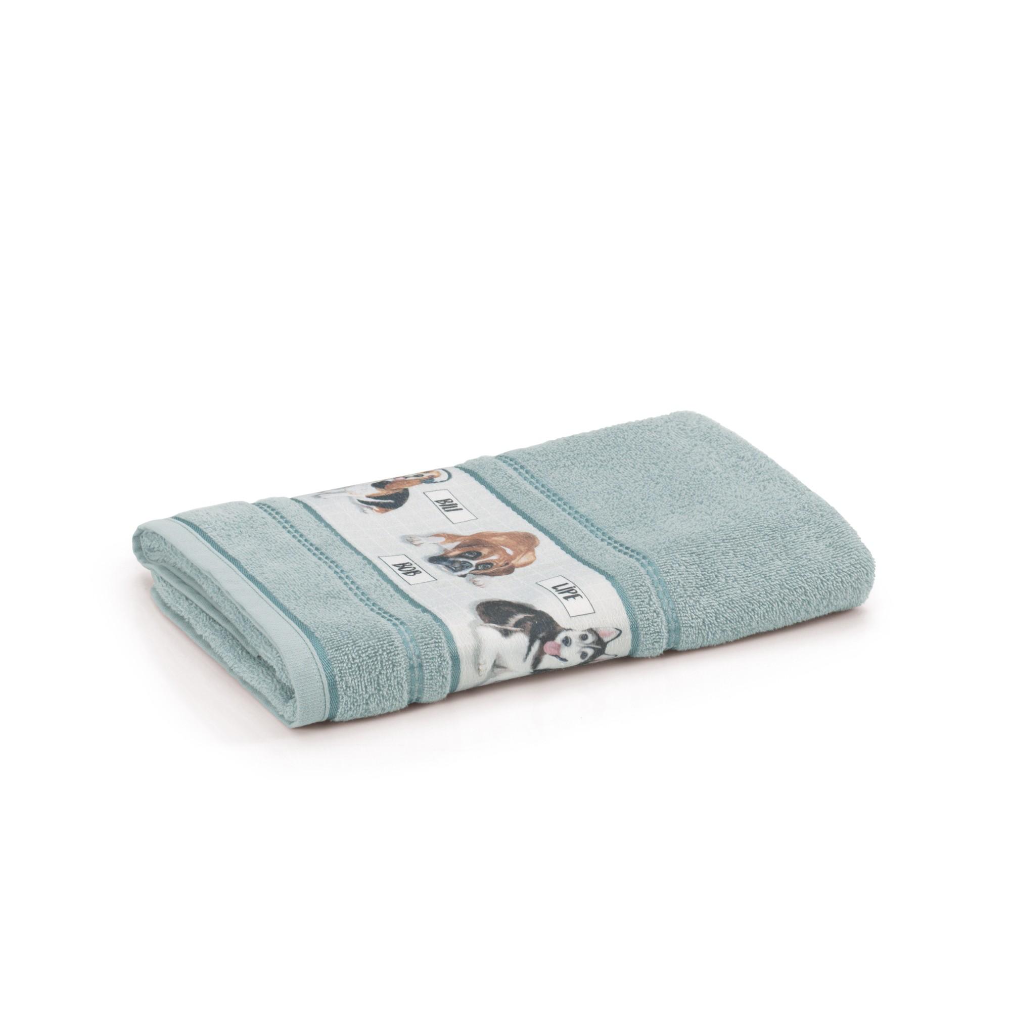 Toalha de Banho Infantil Bob 67 x 135 cm Verde - Karsten