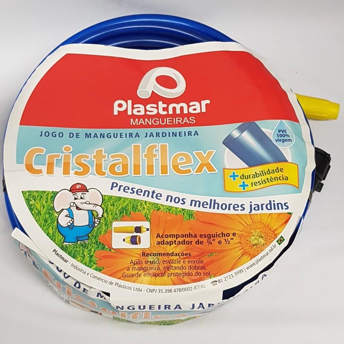 Mangueira de PVC 20m 12 Azul 606 - Plastmar