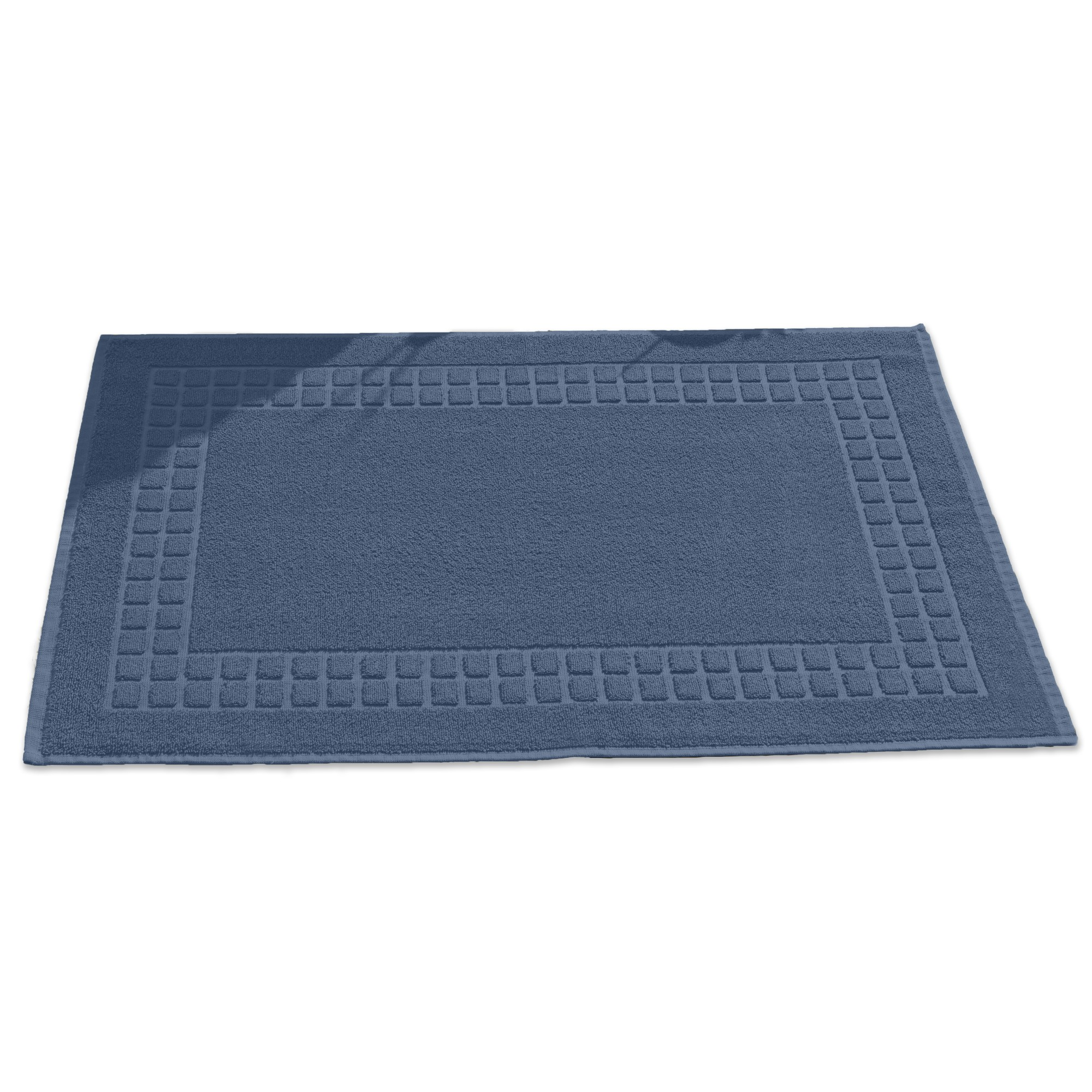 Toalha de Piso Domus 50 x 80 cm 100 algodao Azul - Buettner