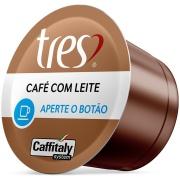 Cápsula de Café com Leite Três Corações - Caixa com 10 unidades