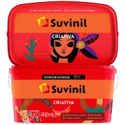 Tinta Acrílica Premium Criativa Fosco 5L - Branco Neve - Suvinil