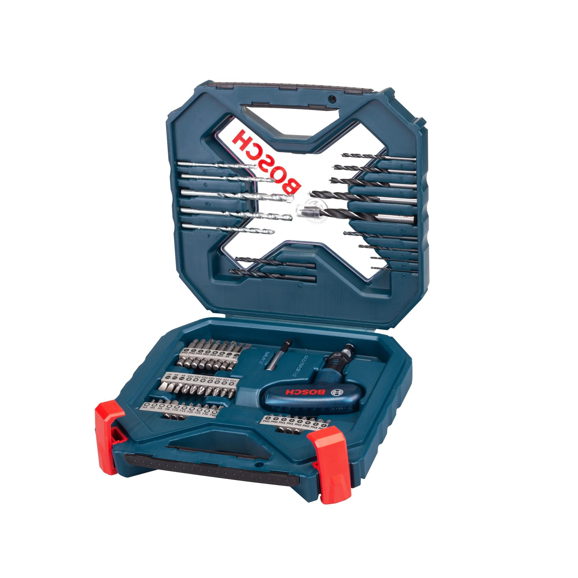 Jogo de Acessorio XLINE Titanio 54 Pecas 2607017507 - Bosch