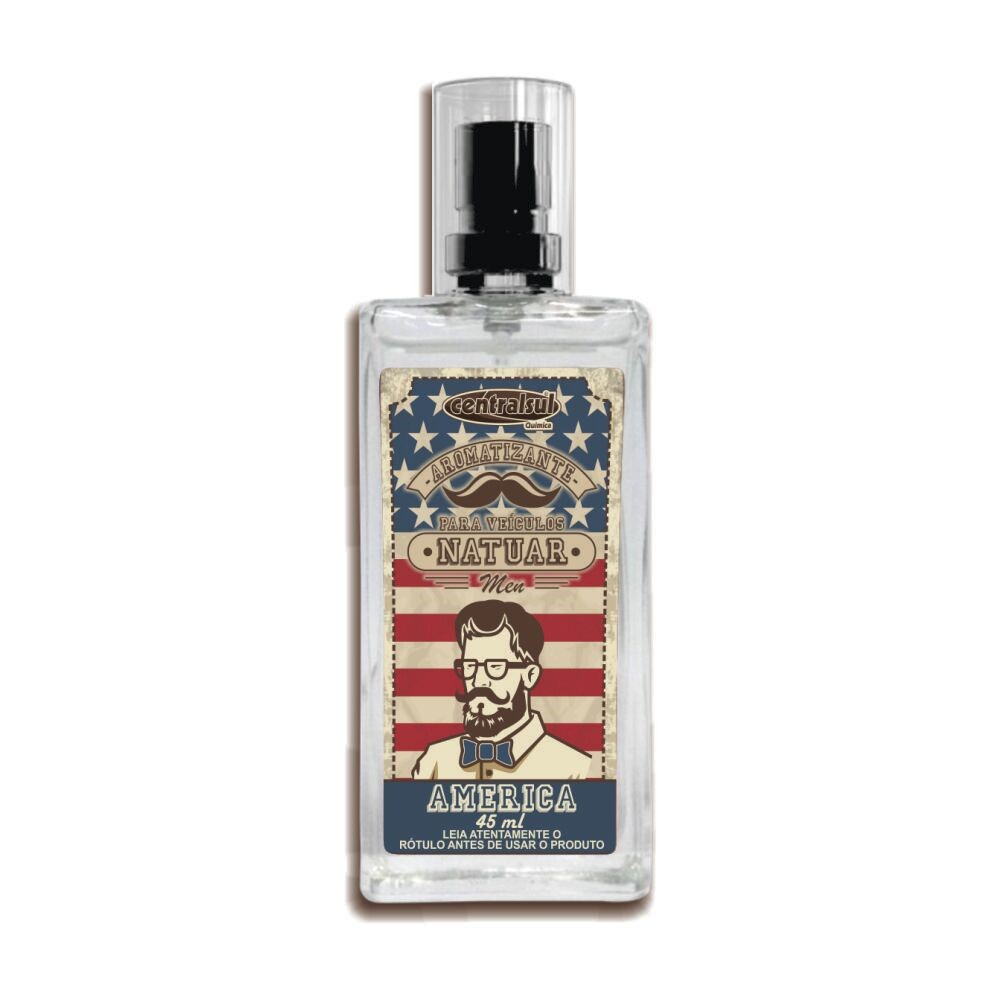 Aromatizante Spray Fragrancia America 45ml - Centralsul