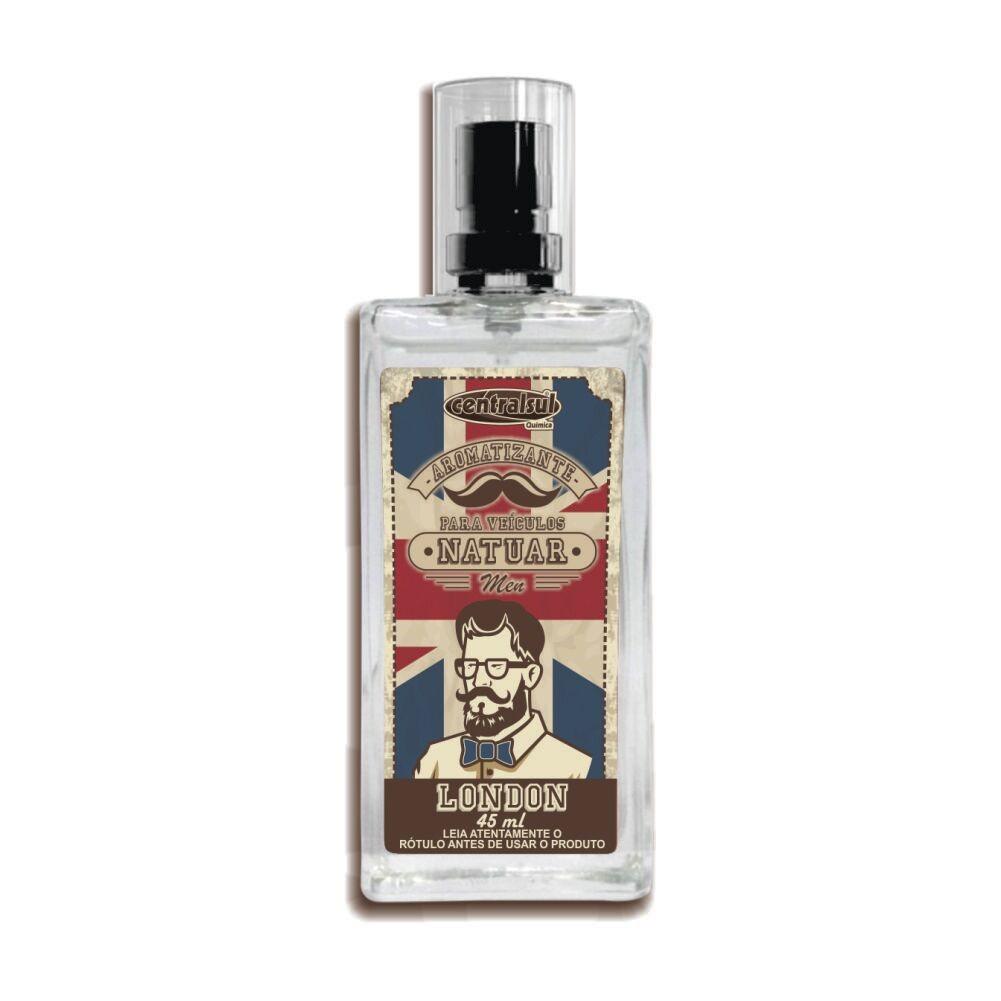 Aromatizante Spray Fragrancia London 45ml - Centralsul