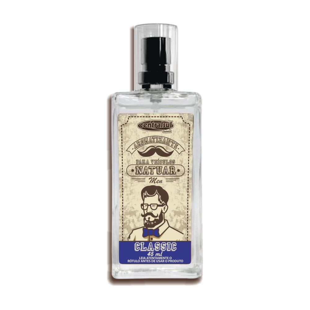 Aromatizante Spray Fragrancia Classic 45ml - Centralsul