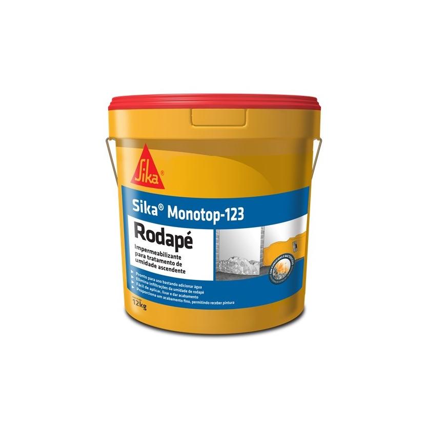 Impermeabilizante Sika Monotop 123 Rodape 12kg - Sika