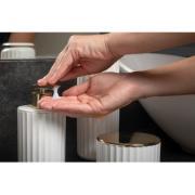 Kit para Banheiro 2 Peças Branco Fosco Groove Plástico - Ou