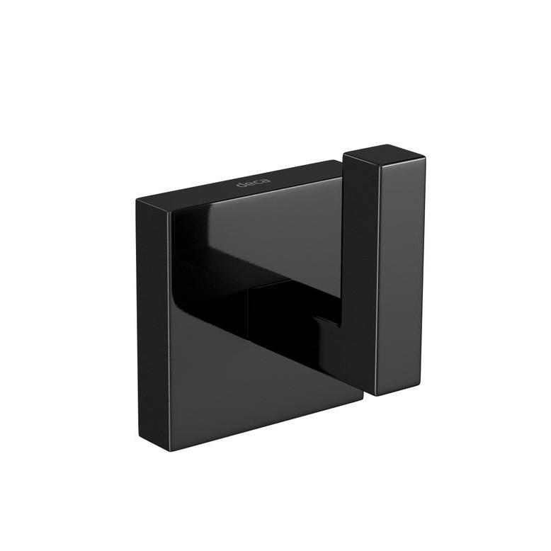 Cabide Cromado Clean Black Noir 2060 - Deca