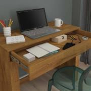 Escrivaninha Cléo em MDP Mel 1 Gaveta - Permóbili
