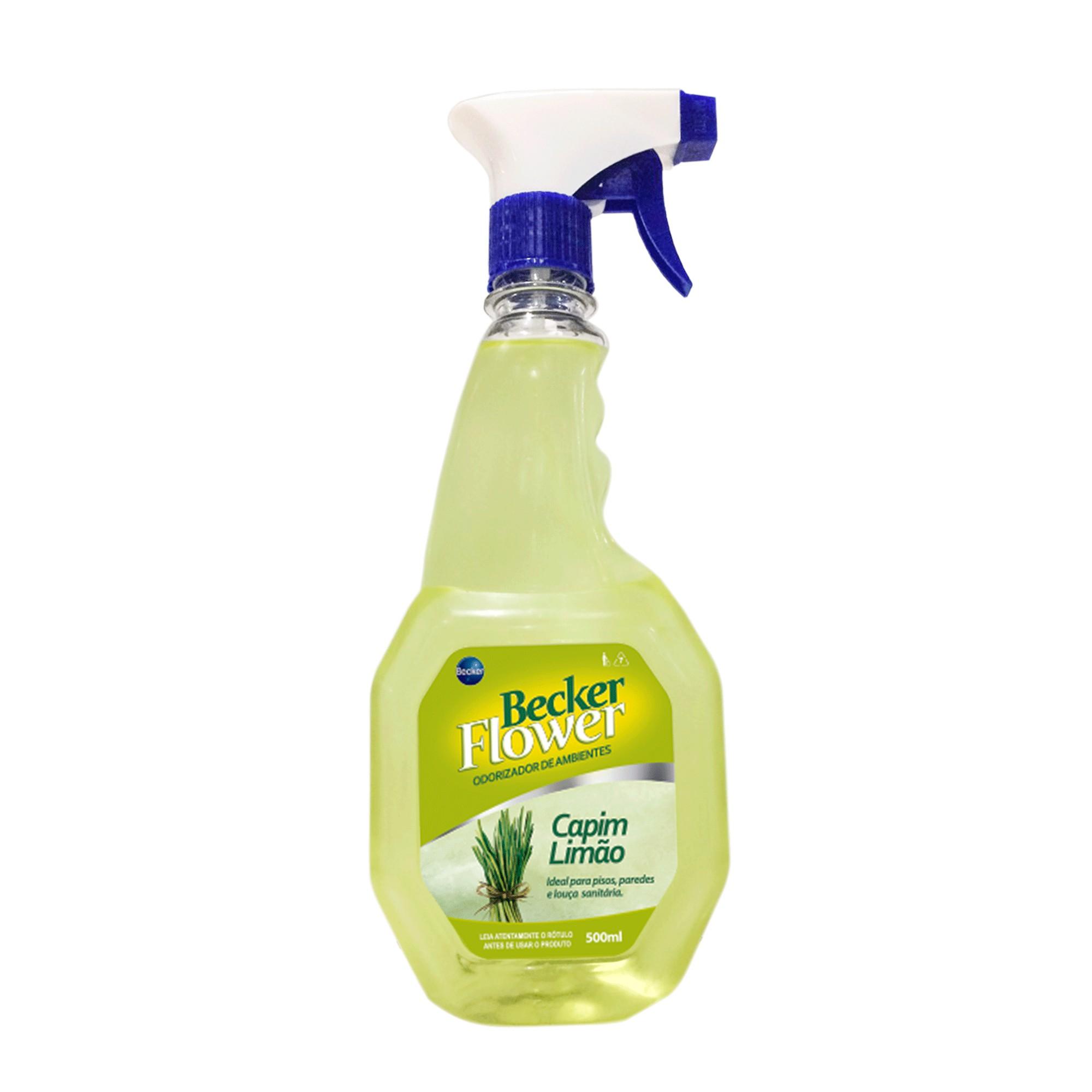 Odorizador de Ambientes Capim Limao 500ml - Becker
