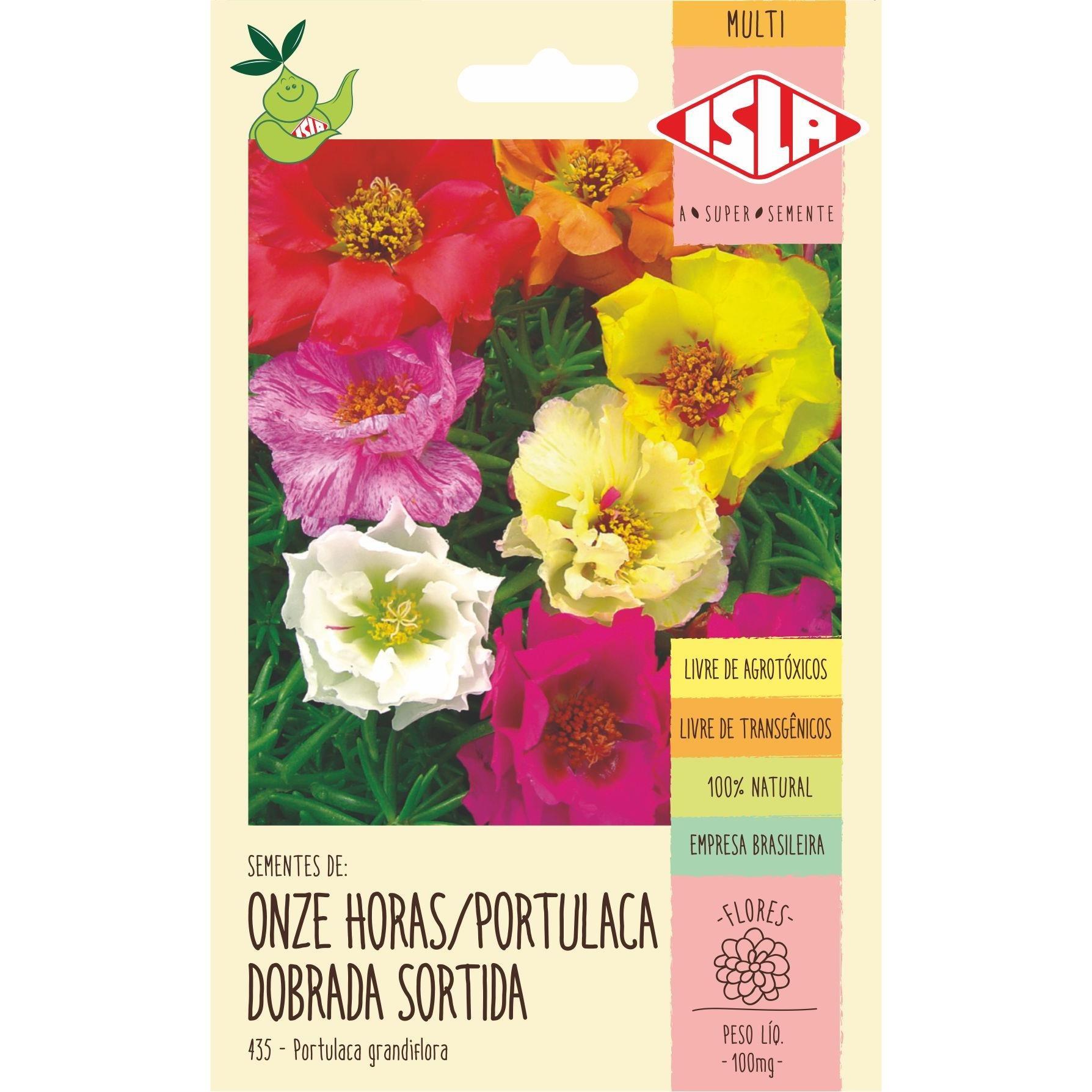 Semente Flor Onze Horas 100mg Envelope 43523 - Isla