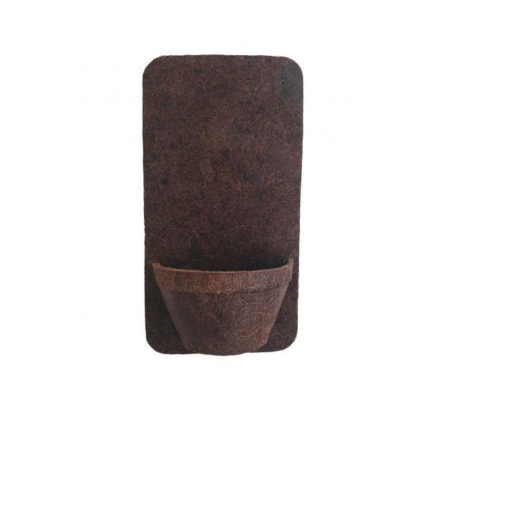 Vaso para Plantas 12cm Fibra de Coco 5001 - Coquim