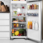 Geladeira/Refrigerador Electrolux Frost Free Duplex 371L Branco 127V - Painel Touch DFN41