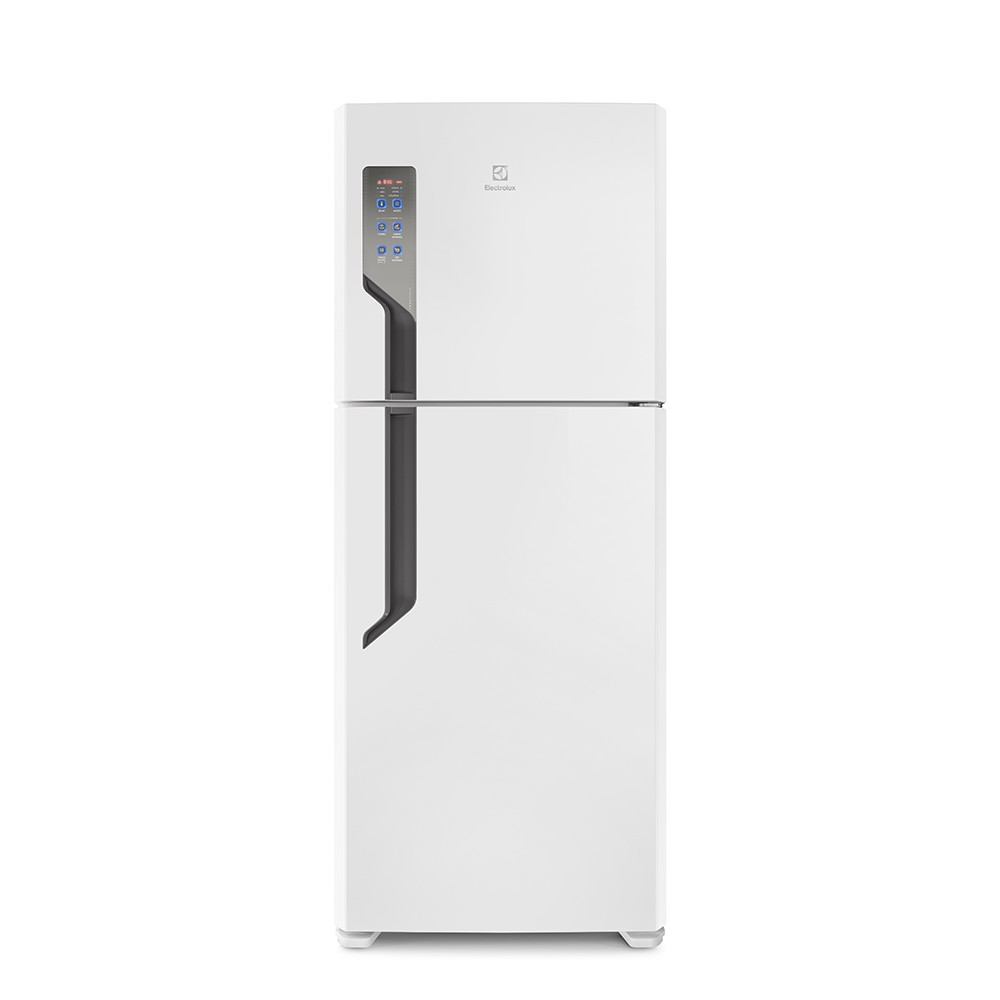 GeladeiraRefrigerador Electrolux Frost Free Duplex 431L Branco 127V - Painel Touch TF55