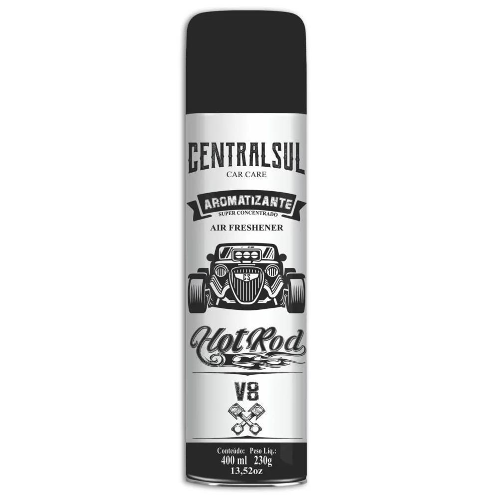 Aromatizante Spray Fragrancia V8 400ml - Centralsul