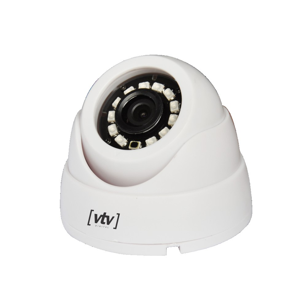 Camera de Seguranca VTV Dome 12L IP65 - Branca