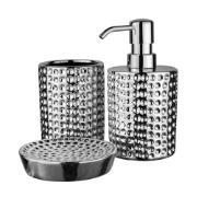 Jogo para Banheiro 3 Peças de Cerâmica - Bianchini